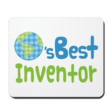 Earths Best Inventor Mousepad