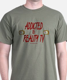 Addicted To Reality TV T-Shirt