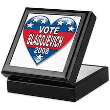 Vote Rod Blagojevich 2008 Political Keepsake Box