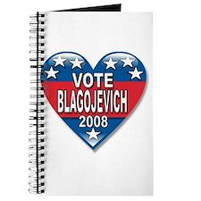 Vote Rod Blagojevich 2008 Political Journal