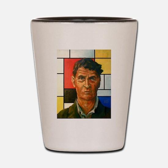 Wittgenstein Shot Glass