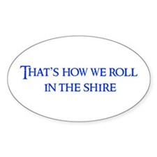 roll-in-shire-blue Decal