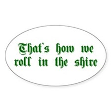 roll-in-shire-sha-g-green Decal