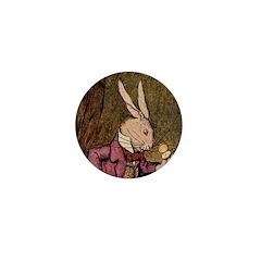 Winter 4 Rabbit Mini Button (10 pack)
