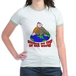 On Top of the World Cartoon Jr. Ringer T-Shirt