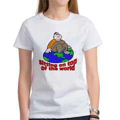 On Top of the World Cartoon Tee