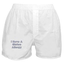I have a gluten allergy Boxer Shorts