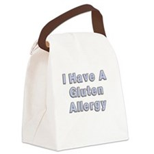 I have a gluten allergy Canvas Lunch Bag