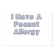 I have a peanut allergy Postcards (Package of 8)