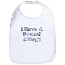 I have a peanut allergy Bib