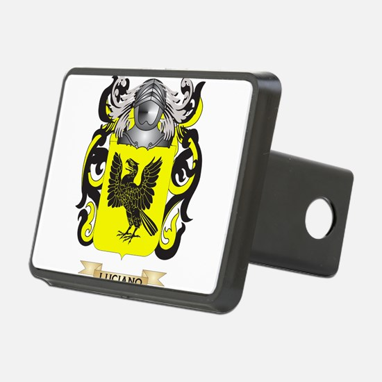Luciano Coat of Arms - Family Crest Hitch Cover