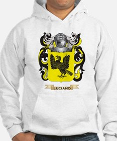 Luciano Coat of Arms - Family Crest Hoodie