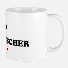 Loved: German Pinscher Mug