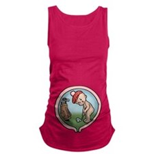 golf-womb-T.png Maternity Tank Top