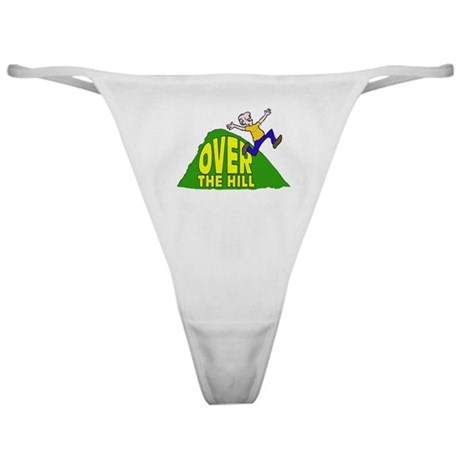 Over the Hill Cartoon Classic Thong