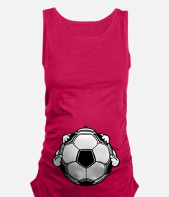 soccerbaby-T.png Maternity Tank Top