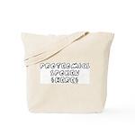 Proteomics Spoken Here Tote Bag