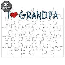 i love grandpa Puzzle