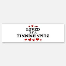 Loved: Finnish Spitz Bumper Bumper Bumper Sticker