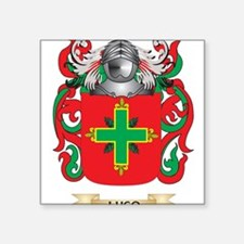 Lugo Coat of Arms - Family Crest Sticker