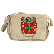 Lugo Coat of Arms - Family Crest Messenger Bag