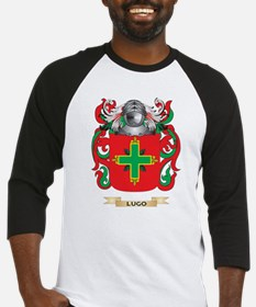 Lugo Coat of Arms - Family Crest Baseball Jersey