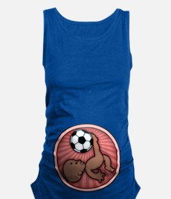 soccer-womb2-ds-T.png Maternity Tank Top