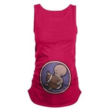 football-wombie-DS-T.png Maternity Tank Top