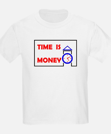 TIME IS MONEY Kids T-Shirt