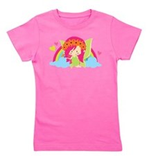 Flower Fairy Rainbow Girl's Tee