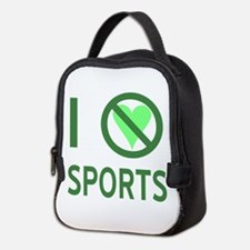 I Hate Sports Neoprene Lunch Bag