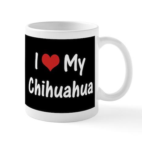 I Heart My Chihuahua Mug