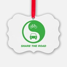 SHARE THE ROAD Ornament