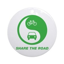 SHARE THE ROAD Ornament (Round)