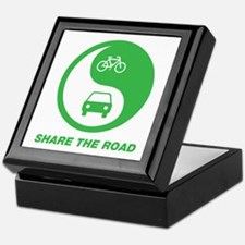 SHARE THE ROAD Keepsake Box