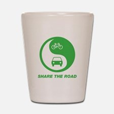 SHARE THE ROAD Shot Glass