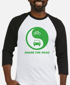 SHARE THE ROAD Baseball Jersey
