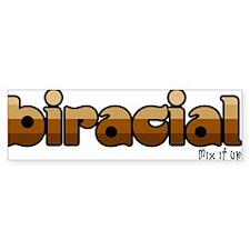 Biracial Bumper Bumper Sticker