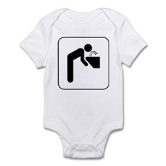 Drinking Fountain Infant Bodysuit