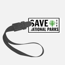 Funny National park service Luggage Tag