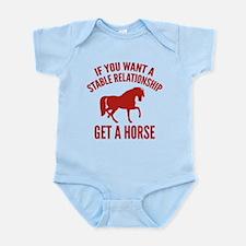 Get A Horse Infant Bodysuit