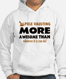 Awesome Polevault designs Hoodie