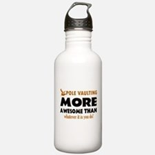 Awesome Polevault designs Water Bottle