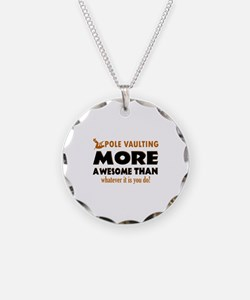 Awesome Polevault designs Necklace