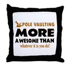 Awesome Polevault designs Throw Pillow