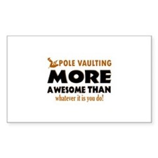 Awesome Polevault designs Decal