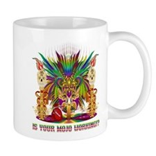 Mardi Gras Witch Doctor 4 Small Mugs