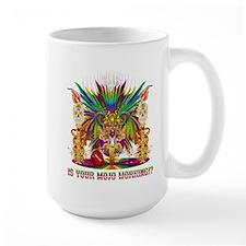 Mardi Gras Witch Doctor 4 Ceramic Mugs