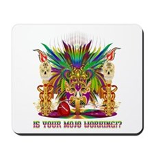 Mardi Gras Witch Doctor 4 Mousepad