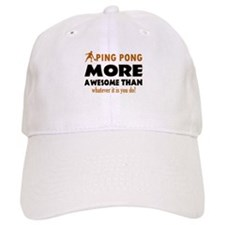 Awesome Ping pong designs Baseball Cap